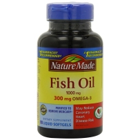 Nature Made 深海鱼油+Omega3 1000mg 90粒