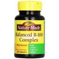 Nature Made 平衡复合维生素B族缓释片  60粒
