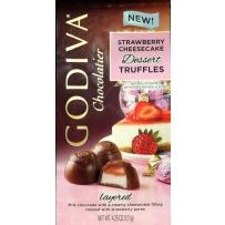 GODIVA  歌蒂梵 草莓芝士松露巧克力宝石块 121g
