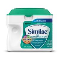 Similac 雅培 1段 加强补充型婴儿配方奶粉  658g  母乳不足混合喂养补充