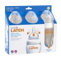 munchkin麦肯齐满趣健防胀气Latch宽口宝宝新生儿奶瓶8盎司236ml 3只装