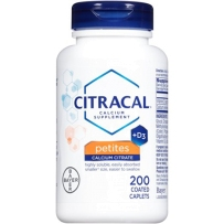 Citracal Petites with Vitamin D3 柠檬酸钙 200粒