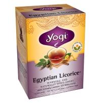 美国Yogi tea瑜珈茶埃及甘草茶 补气平喘不含咖啡因 16包