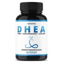 Havasu Nutrition  成人DHEA 50mg健康减肥平衡激素水平增加代谢 60粒胶囊