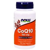 NOW Foods 诺奥双酶辅酶CoQ10素食胶囊 150mg 100粒 保护心脏 养护心脑健康