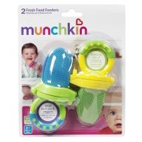 Munchkin 麦肯奇 新鲜食物咬咬袋 2只装 颜色随机