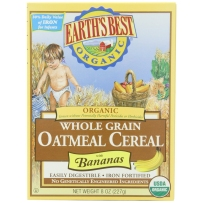 Earth's Best 世界最好 2段 有机高铁香蕉燕麦米粉 227g