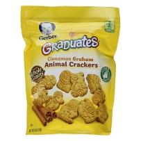 Gerber 嘉宝 肉桂全麦动物小饼干  两袋装