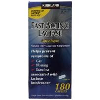 Kirkland Fast Acting Lactase快速乳糖酶片 180片