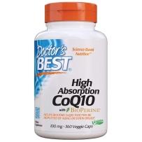 Doctor's best多特倍斯 高吸收辅酶Q10 保护心血管健康卵巢备孕软胶囊 100mg360粒