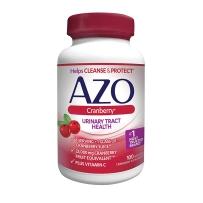 AZO加强型蔓越莓妇科尿路泌尿系统健康胶囊100粒