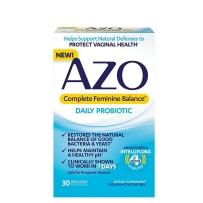 AZO平衡女性每日益生菌保护阴道健康7天见效 30片