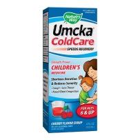美国 Nature's Way Umcka樱桃风味儿童伤风甜浆 120ml