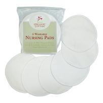 TL防溢乳垫溢乳垫全有机棉抗菌可清洗防溢乳垫  6片装