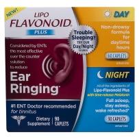 Lipo-Flavonoid Plus神经性耳鸣日夜配方美泥尔综合症60+30粒 90粒