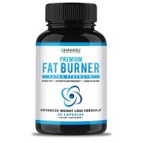 Havasu Nutrition 成人减肥药酮食欲抑制脂肪燃烧增加代谢60粒 CLA绿茶提取物苹果醋珊瑚钙