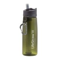 LifeStraw 生命吸管 LifeStraw Go 过滤水壶 650ml 绿色