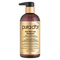 Pura d'or金标纯有机防脱发摩洛哥坚果油防脱发洗头水473ml
