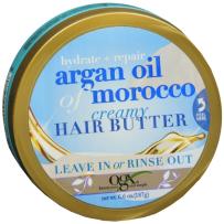 OGX/Organix摩洛哥坚果油 高保湿深层滋养润发黄油膏/发膜 187g