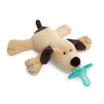 WubbaNub 可爱动物系列安抚奶嘴 棕色小狗奶嘴