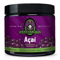 Sambazon Acai有机冻干巴西莓阿萨伊粉 90g 抗氧化消脂