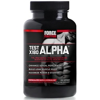 Force Factor Test X180 Alpha 提高男性能力120粒