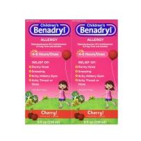 Children's Benadryl儿童抗过敏糖浆 樱桃味 236ml * 2瓶