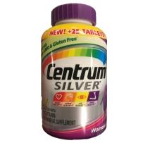 Centrum 银善存片成人中老年人女性复合维生素银片50岁以上 250粒+25粒