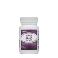 GNC Vitamin K-2维生素K2软胶囊60粒 增加骨密度