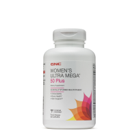 GNC女性50岁多种复合综合维生素中老年缓释型120片