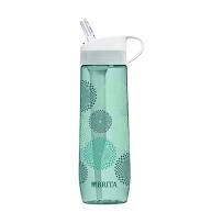 Brita/碧然德 户外直饮吸嘴式过滤水杯水壶薄荷绿旭日形700ml包邮