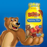 L'il Critters小熊糖Gummy Vites复合维生素软糖300粒