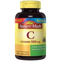 Nature Made 野生玫瑰果维生素C 500mg 500粒