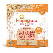 HappyBaby禧贝有机混合谷物婴儿米粉新包装 198g藜麦米粉