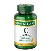 Nature's Bounty 自然之宝纯天然维生素C 500mg 250粒 片剂 无糖维C美白肤色