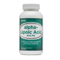 特价!GNC健安喜硫辛酸600mg60粒 降血糖 保护肝脏