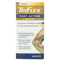 GNC TriFlex™ Fast-Acting 加强型速效维骨力 240粒