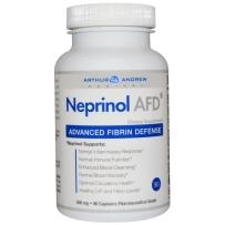 美国极酶neprinol afd原装正品含纳豆激酶辅酶q10软胶囊500mg90粒