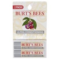 Burt's Bees 小蜜蜂 藤黄果山竹保湿润唇膏  特润  两支装 (2*4.25g)