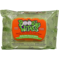 Boogie Wipes 鼻涕虫 宝宝温和卫生湿巾 清新味 30抽