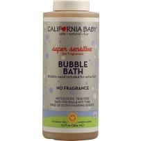 California Baby  加州宝宝超级防敏感泡泡浴  384ml