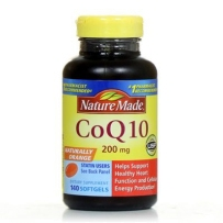 Nature Made CoQ10  辅酶Q10 200mg 140粒 新包装