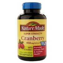 Nature Made Cranberry蔓越莓精华 450mg, 120粒胶囊