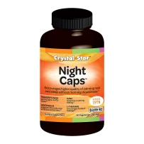 Crystal Star 美国睡盾 Night Caps 帮助睡眠 60粒