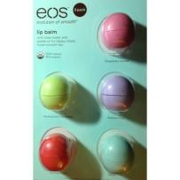 eos™ 天然有机润唇膏 5种口味超值装