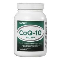 GNC 健安喜 辅酶 CoQ10 100mg 120 粒  保护心脏心血管
