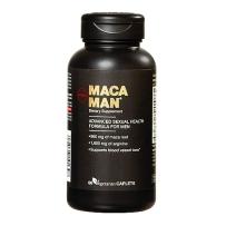 GNC秘鲁黑玛卡精片玛咖含精氨酸60片成人男性抗疲劳补★肾持久力