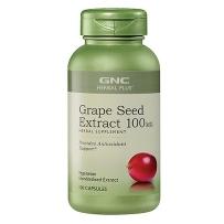 GNC葡萄籽精华 美白祛斑 抗衰老100mg   100粒