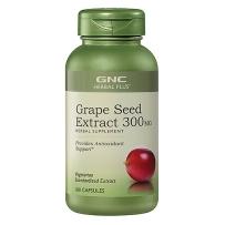 GNC葡萄籽精华 300mg 100粒 原花青素美容养颜美白淡斑