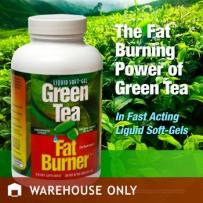 Green Tea Fat Burner 绿茶燃脂减肥液体软胶囊 200粒